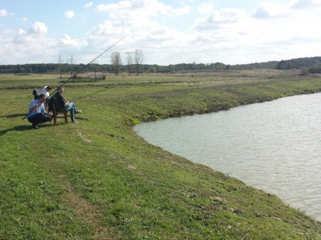 Guided fishing trips in Serbia