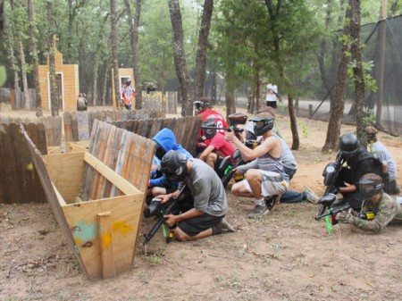 Outdoor paintball Belgrade