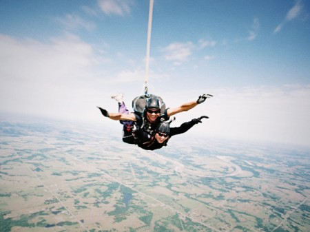 Skydive in Serbia