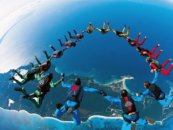 Skydiving holidays in Serbia