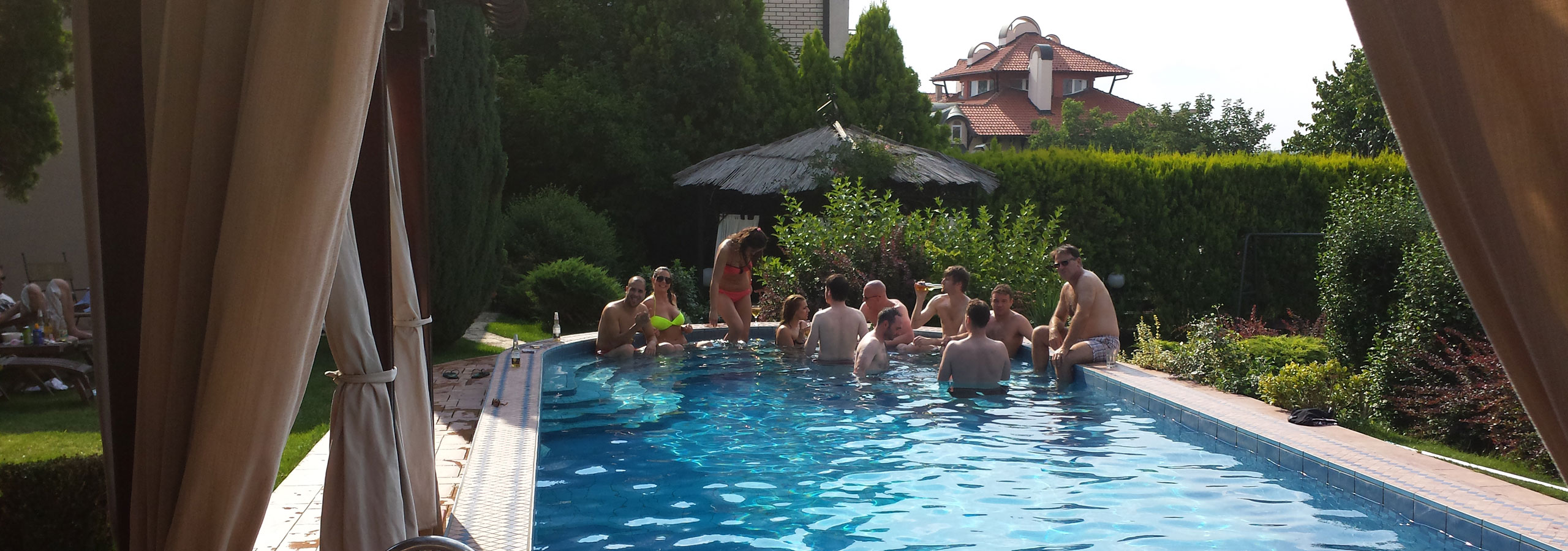 Stag Pool Party