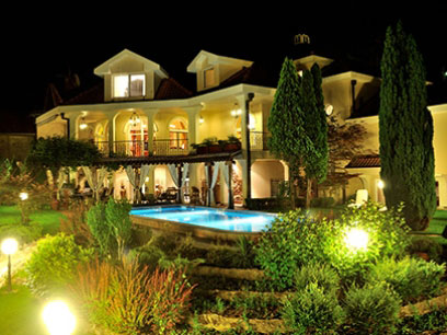 bachelor party villa