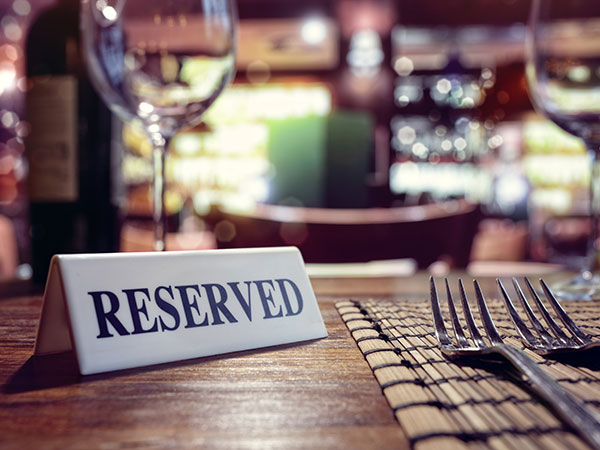 bookings and reservations for clubs and restaurants